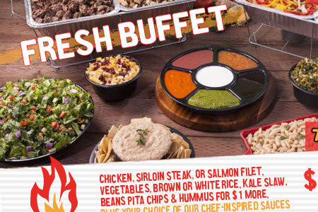 Fresh Griller Catering website